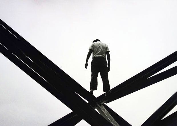 Mexico City suicide attempt (25 May, 1971), Enrique Metinides. Michael Hoppen Gallery, London