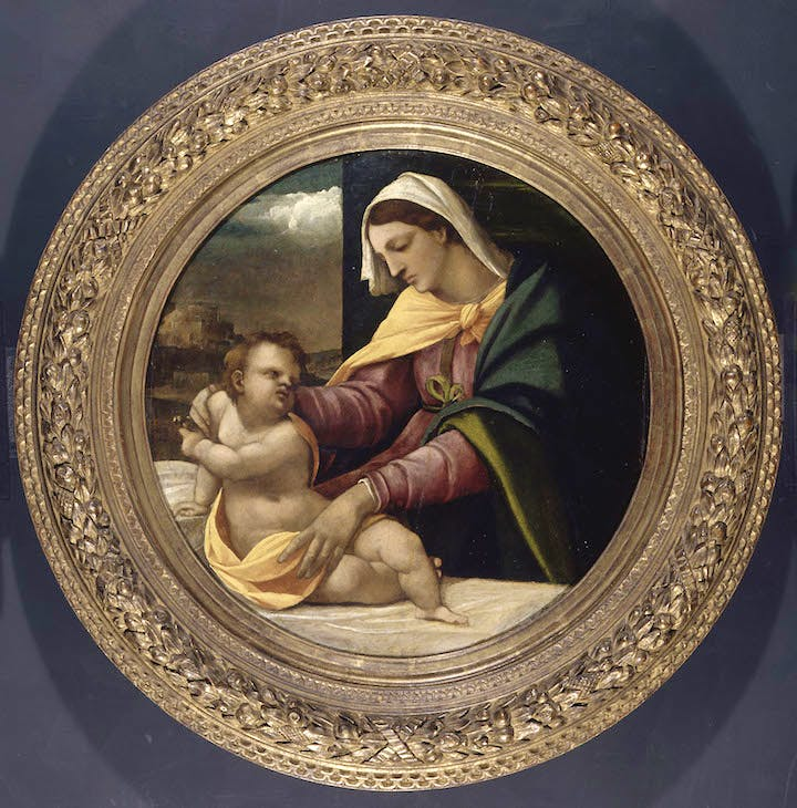 The Virgin and Child (c. 1715), Sebastiano del Piombo. © Fitzwilliam Museum, Cambridge