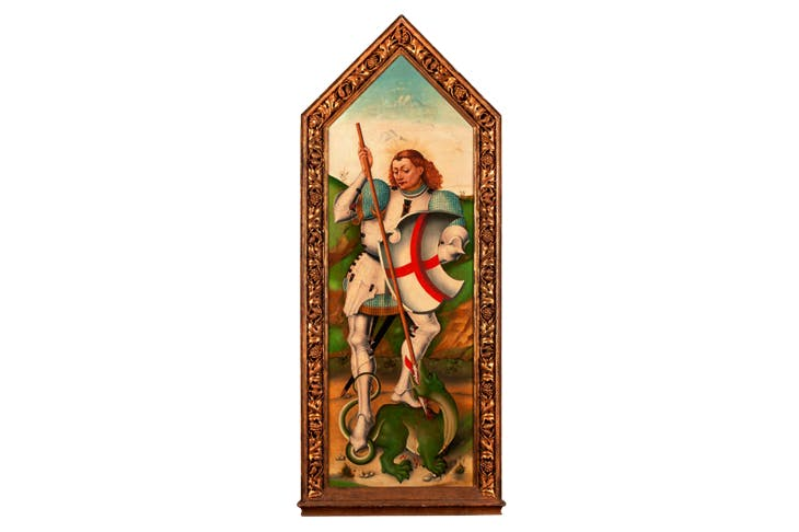 St George and the Dragon (late 15th century), Jorge Inglés. Mullany Haute Epoque Fine Art, price on application