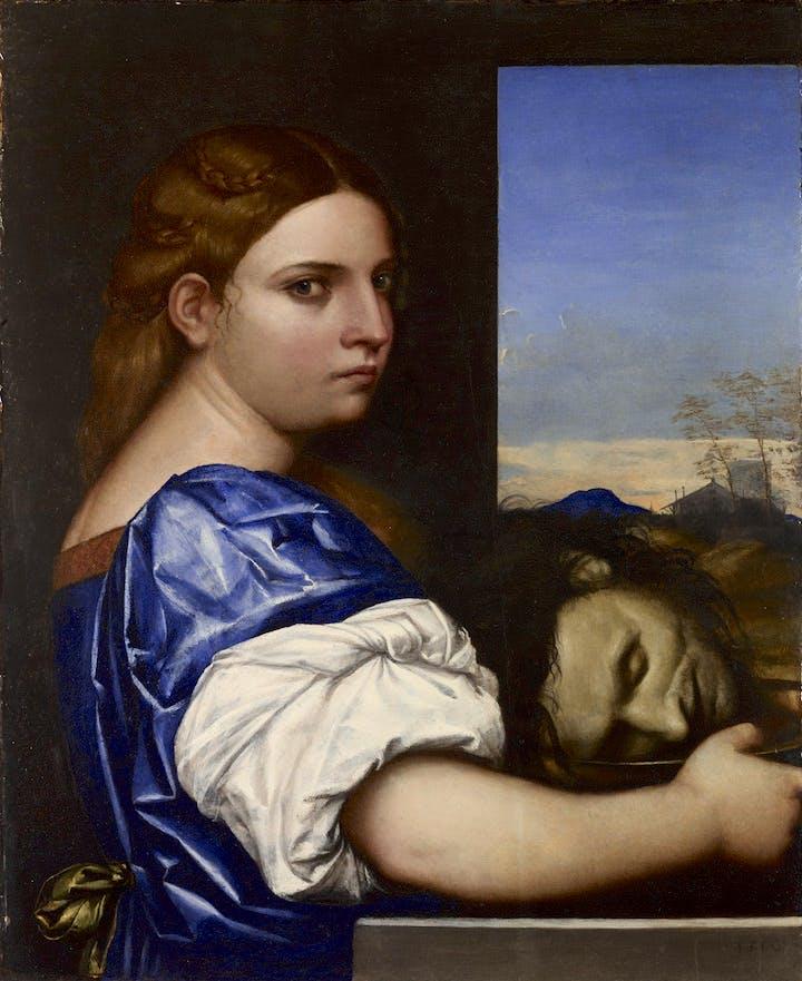 Judith (or Salome?) (1510), Sebastiano del Piombo. © The National Gallery, London