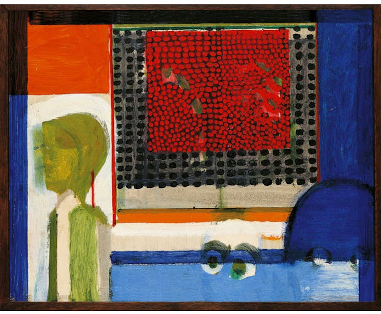 Small Japanese Screen or The Japanese Screen (1962–63). © Howard Hodgkin