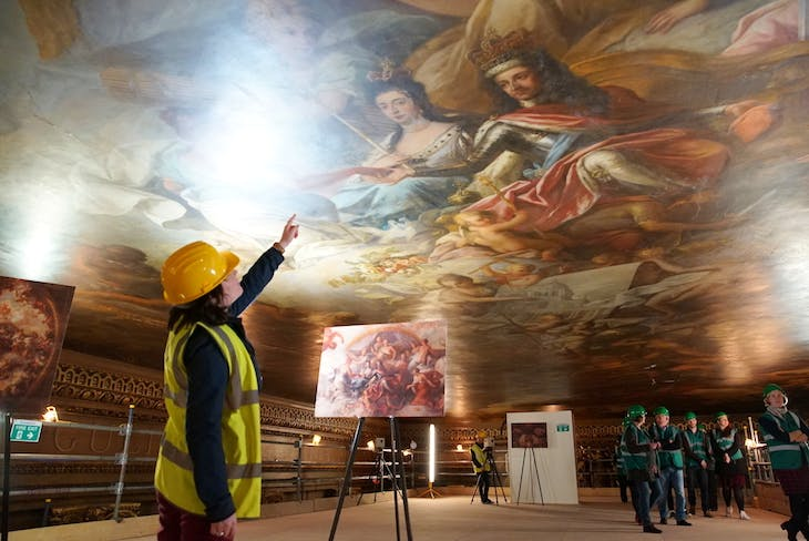 Painted Hall Ceiling Tours. © ORNC