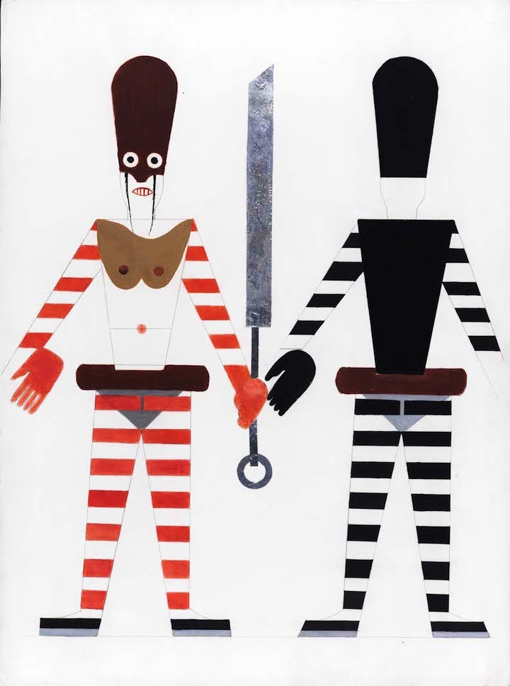 Costume design for Turandot (1928), Anatoly Petrytsky. James Butterwick, €75,000