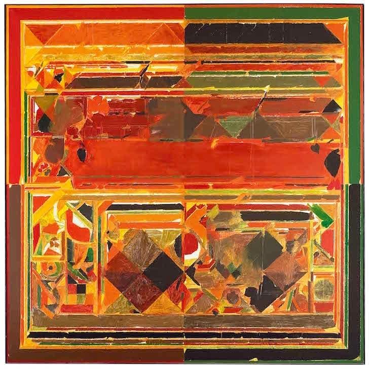 Saurashtra (1983), S.H. Raza. Kiran Nadar Museum of Art, Delhi