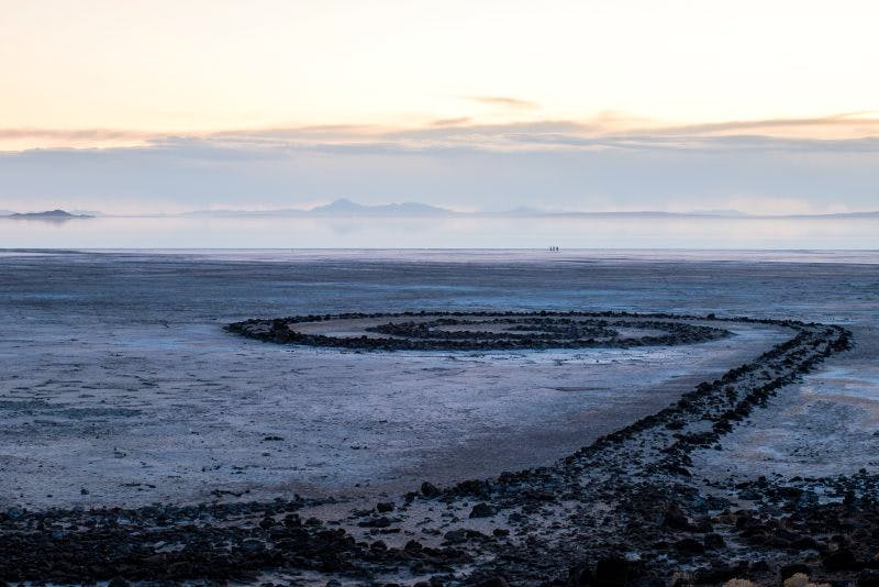 The state of Utah has voted to make Robert Smithson's 'Spiral Jetty' an official work of art.
