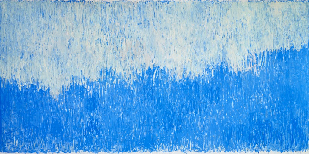 Strand (Thus the light rains, thus pours) (2016), Christopher Le Brun. Courtesy the artist and Albertz Benda, New York