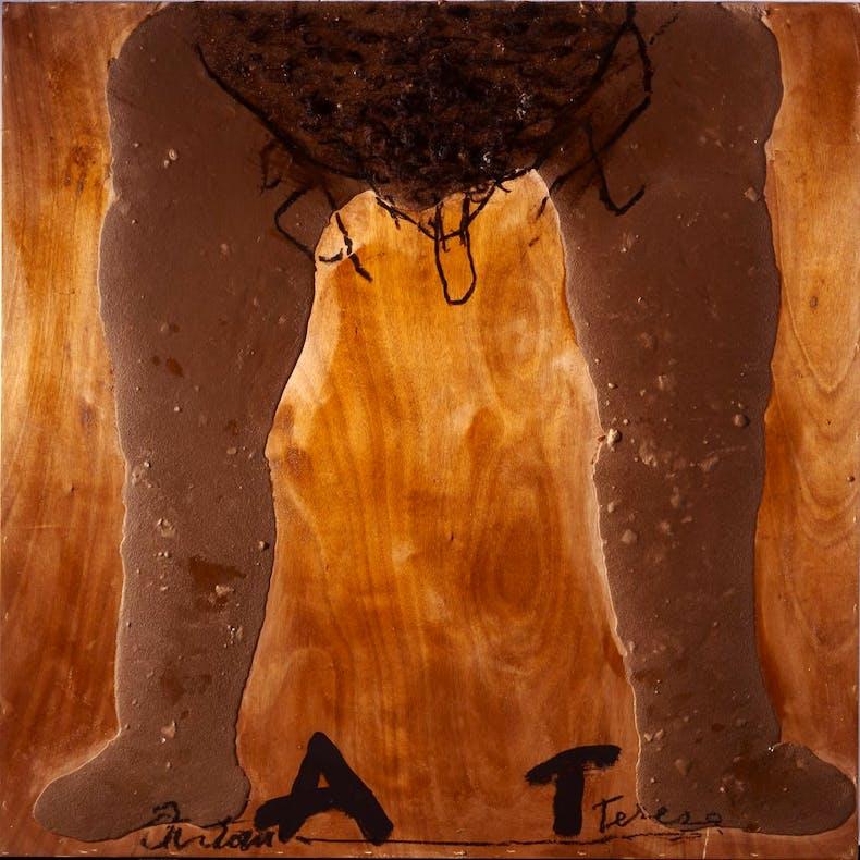 Cames i AT, (2011), Antoni Tàpies, © Comissió Tàpies/VEGAP Courtesy Timothy Taylor