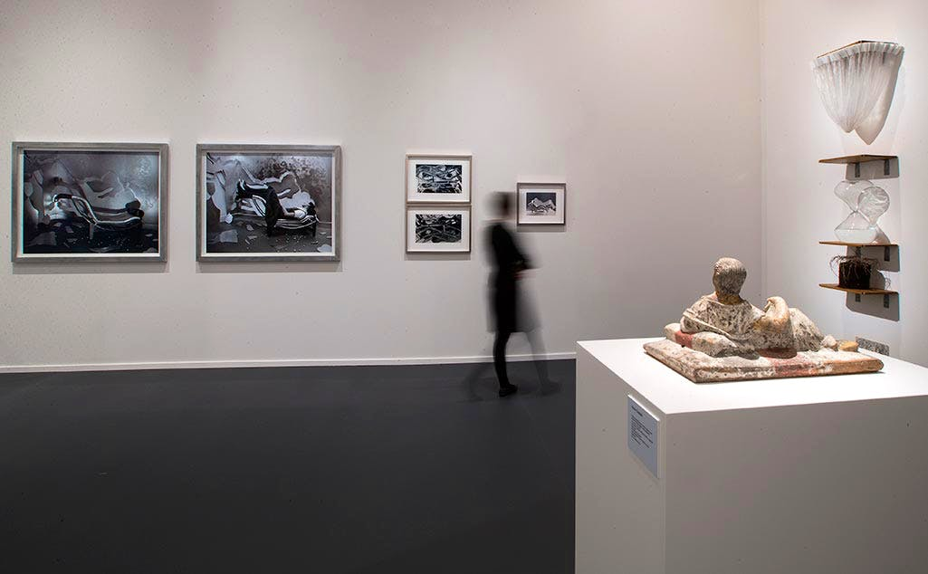 'TEFAF Curated - La Grande Horizontale' at TEFAF Maastricht 2017. Photo: Harry Heuts