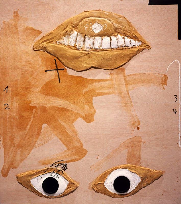 Capgirat, (2005), Antoni Tàpies, © Comissió Tàpies/VEGAP Courtesy Timothy Taylor