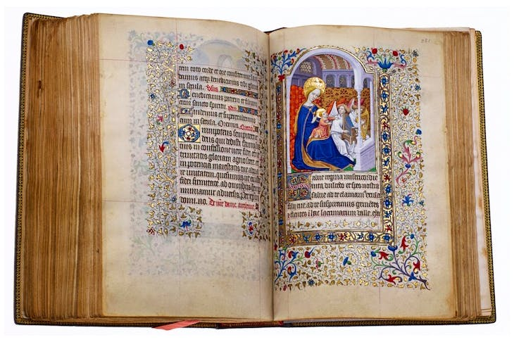 The Hours of Isabeau de Croix (c. 1430–50) Miniatures by the Master of the Harvard Hannibal, the Master of the Munich Golden Legend, and the Dunois Master. Les Enluminures, price on application
