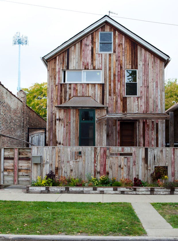 The Archive House at Dorchester Projects, Chicago (2012). Photo: © Sara Pooley; Courtesy White Cube; © Theaster Gates