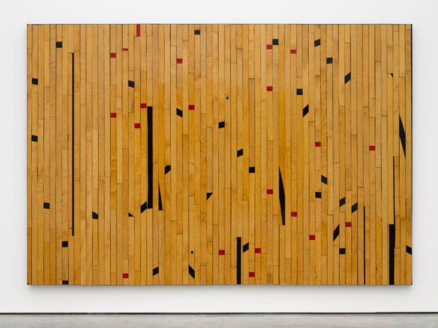 Ground Rules (Free throw possibility) (2014), Theaster Gates. Photo: © White Cube (Ben Westoby); © Theaster Gates