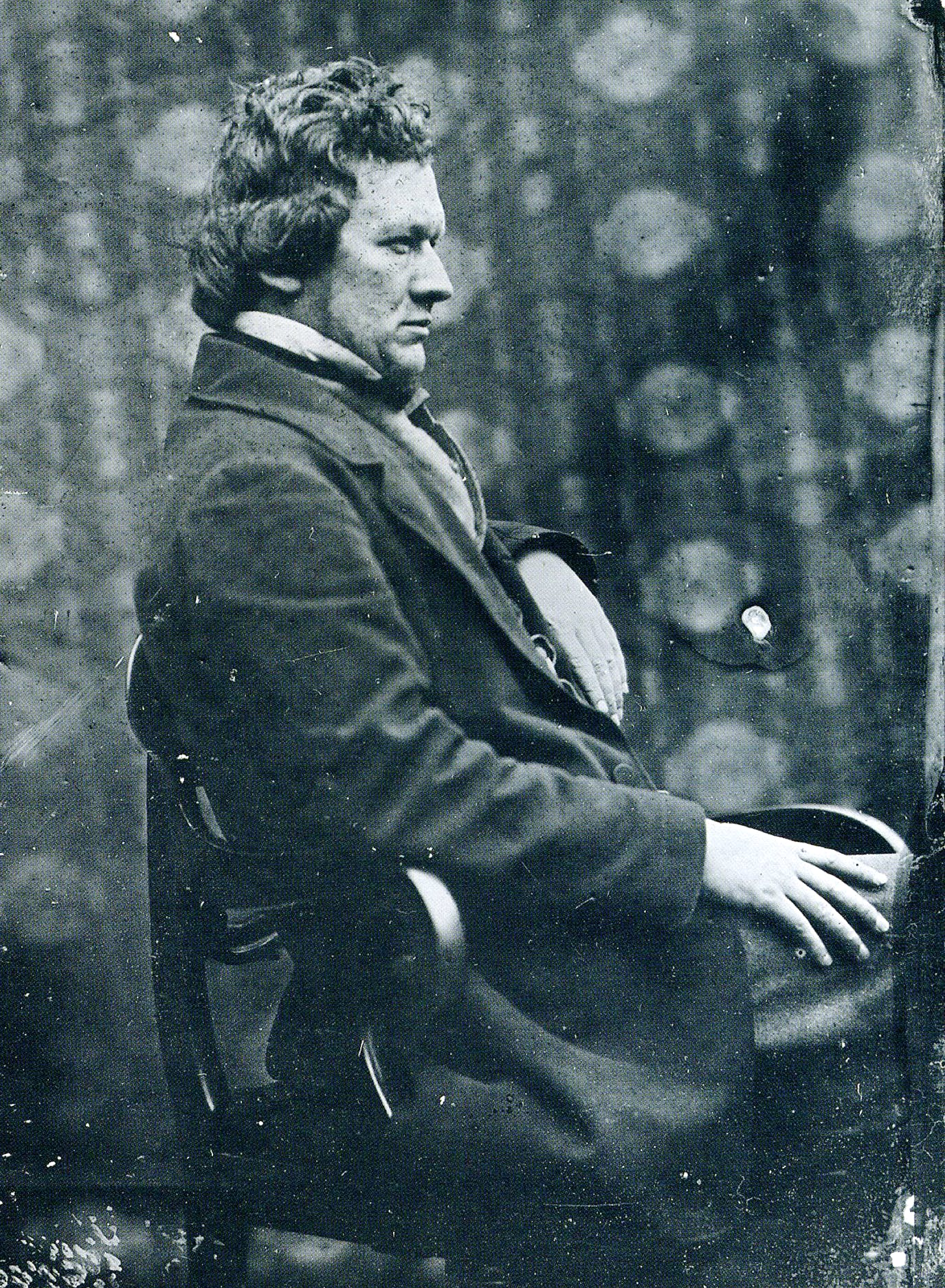 Alexander 'Greek' Thomson (1817–75), in an ambrotype of c. 1860