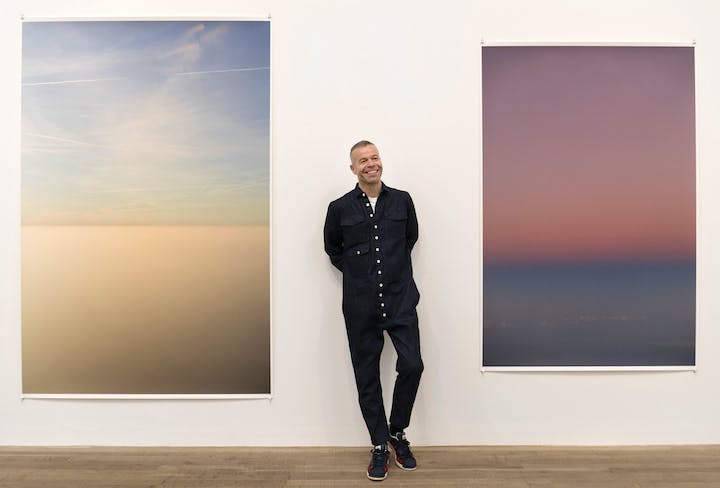 Wolfgang Tillmans, photographed at Tate Modern in February 2017