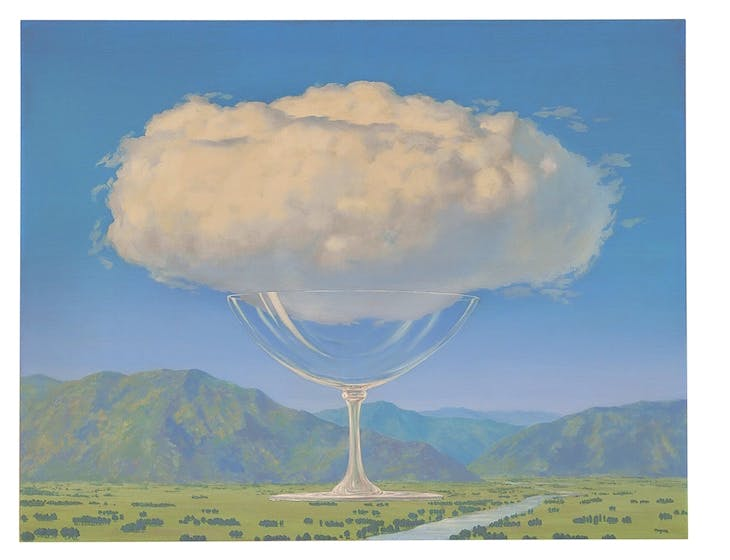 La corde sensible (1960) René Magritte. Christie's London, £14.4m