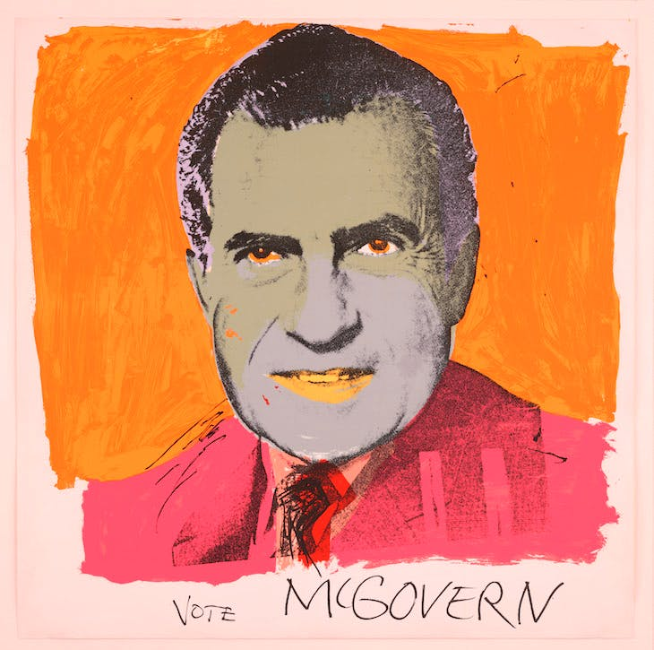 Vote McGovern (1972), Andy Warhol. © 2016 The Andy Warhol Foundation for the Visual Arts, Inc./Artists Rights Society (ARS), New York and DACS, London