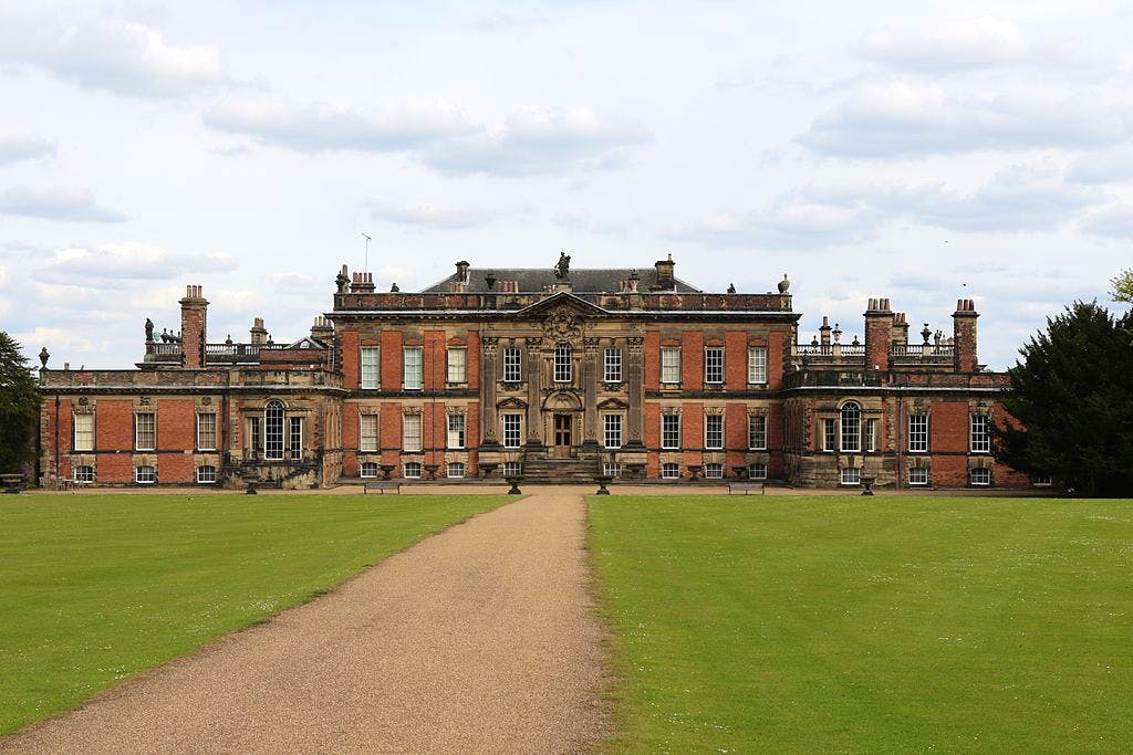 West front of Wentworth Woodhouse in May 2015