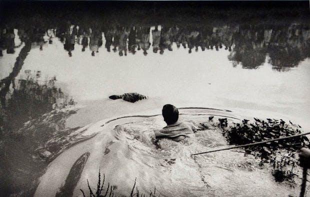 Xochimilco Lake, Mexico City (1960), Enrique Metinides. Michael Hoppen Gallery, London