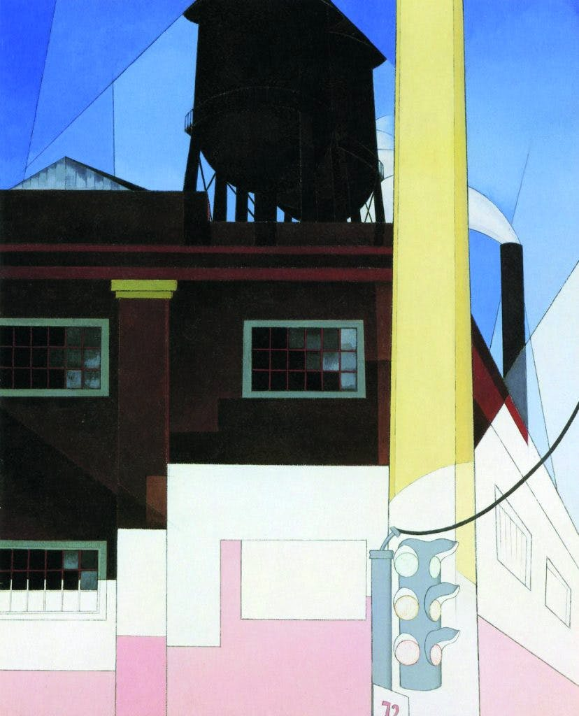 ...And the Home of the Brave (1931), Charles Demuth