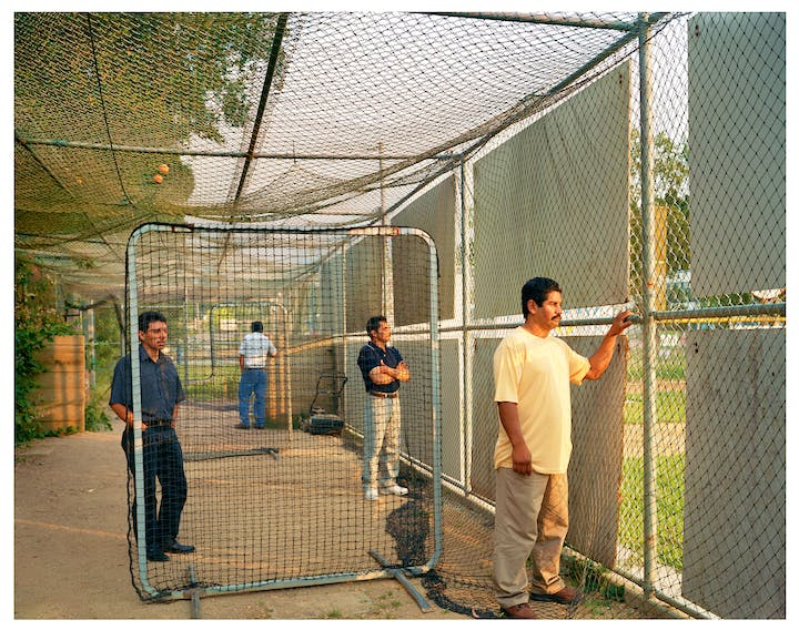 Batting Cage (from the series Homeland; 2007), Larry Sultan. © Estate of Larry Sultan; photo: courtesy the Estate of Larry Sultan