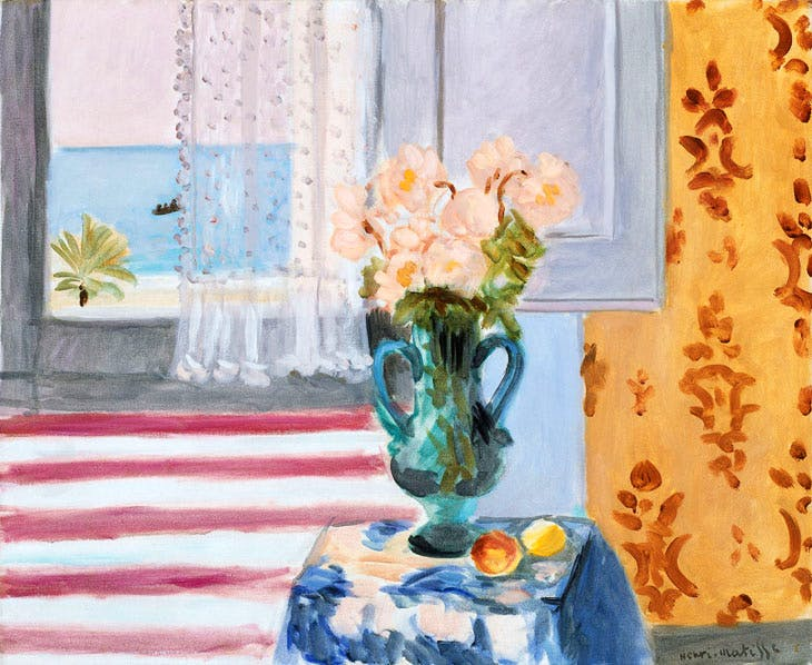 Vase of Flowers (1924), Henri Matisse. Museum of Fine Arts, Boston