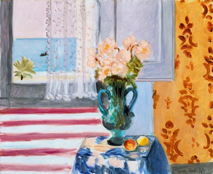 Vase of Flowers (1924), Henri Matisse. Museum of Fine Arts, Boston