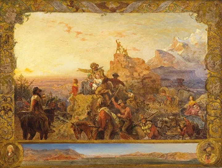 Westward the Course of Empire Takes its Way (1861), Emanuel Gottlieb Leutze. © Gilcrease Museum, Tulsa, Oklahoma