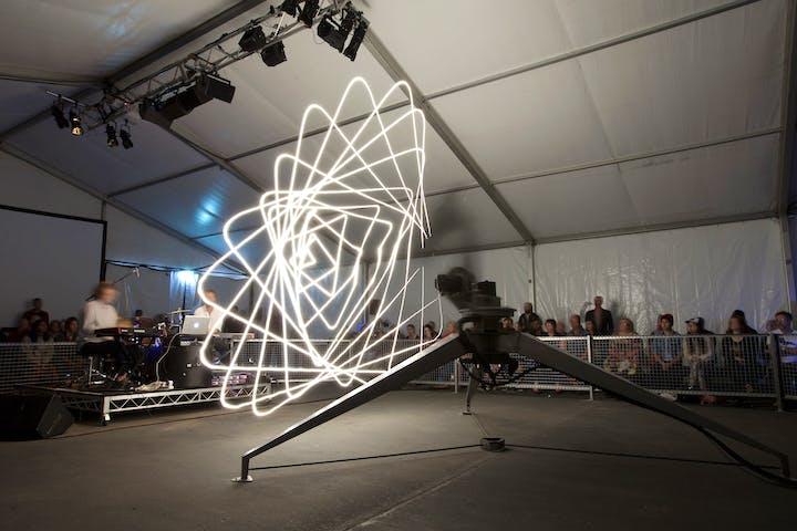 The ADA Project, Conrad Shawcross, photographed in 2013. © MONA - Museum of Old and New Art, Tasmania
