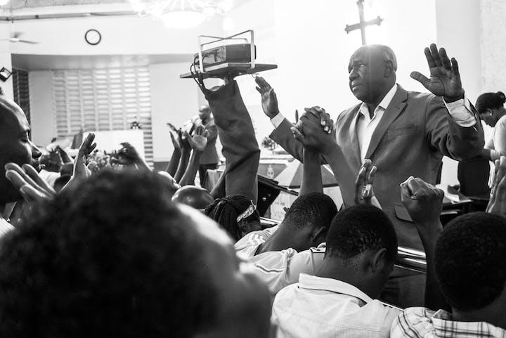 Morning Glory in the Lutheran Kariakoo Church in Dar es Salaam, June 2016 © Deutsches Historisches Museum / Karsten Hein