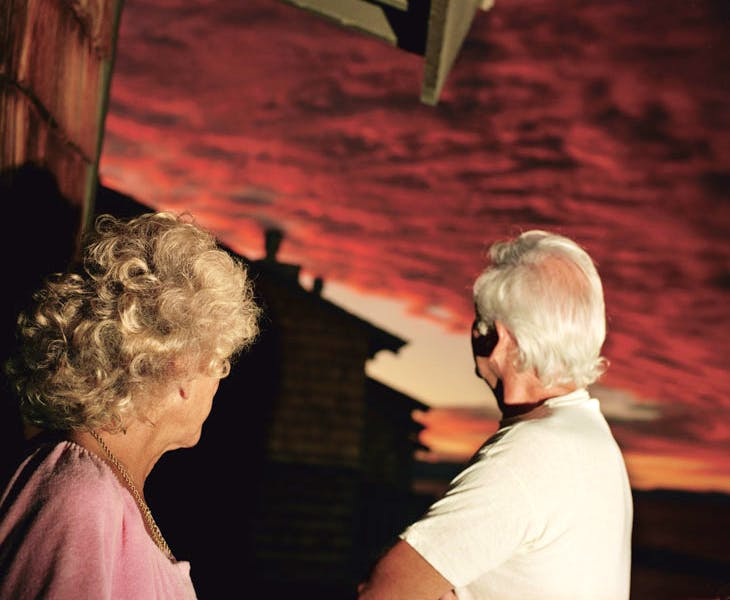 Sunset (from the series The Valley; 2001), Larry Sultan. © Estate of Larry Sultan; photo: courtesy the Estate of Larry Sultan