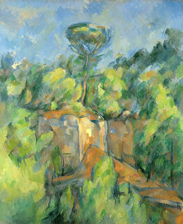 Quarry at Bibémus (1898–1900), Paul Cézanne. Gift of Henry W. and Marion H. Bloch, 2015