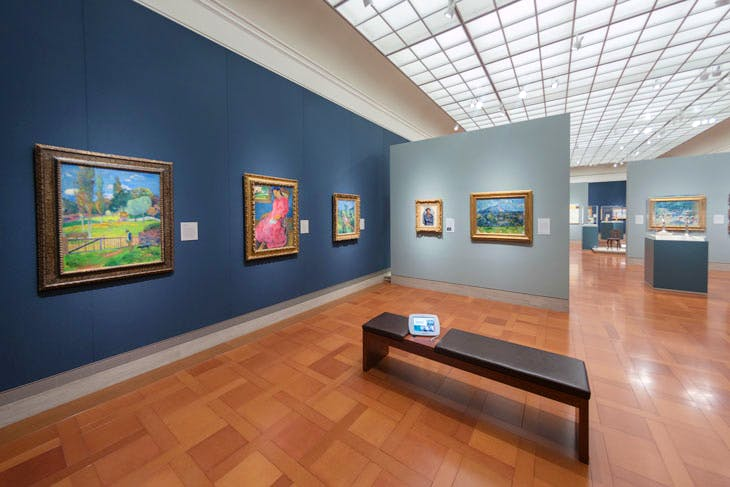 The Bloch galleries at the Nelson-Atkins Museum. Photo: Joshua Ferdinand