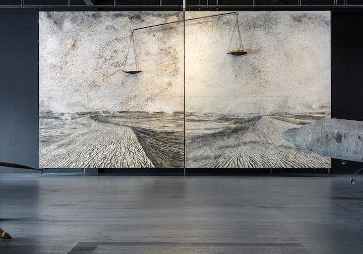 S Hg NaCl (2012), Anselm Kiefer. Photo: Anders Sune Berg