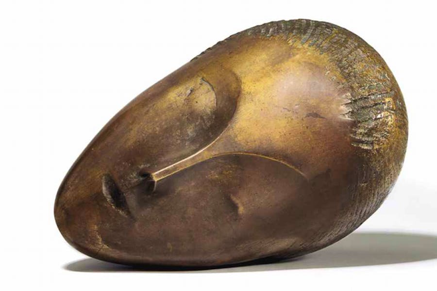 La Muse Endormie (cast by 1913), Constantin Brancusi.