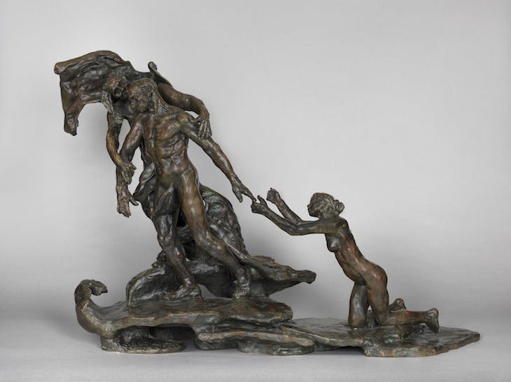 L'Âge mur (The Age of Maturity) (1890–1907), Camille Claudel. Musée Camille Claudel, Nogent-sur-Seine. Poto: Marco Illuminati; © Musée Camille Claudel
