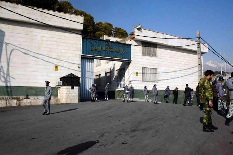 Tehran's Evin prison, where gallerists Karan Vafadari and Afarin Niagara have been held since July 2016