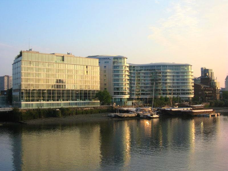 Foster + Partners Battersea HQ. The company is to lay off around 100 staff due to 'market uncertainty'.
