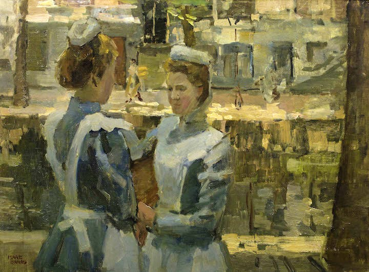 Servant Girls on the Leidsegracht Isaac Israëls (1865‐1934). Groninger Museum