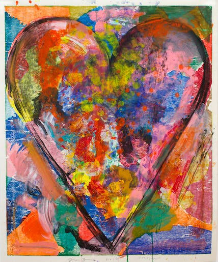July, Summer 2014 XI (2014), Jim Dine. Courtesy the artist and Alan Cristea Gallery, London