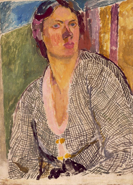 Self-Portrait (c. 1915), Vanessa Bell. Yale Center for British Art, New Haven. © The Estate of Vanessa Bell, courtesy of Henrietta Garnett