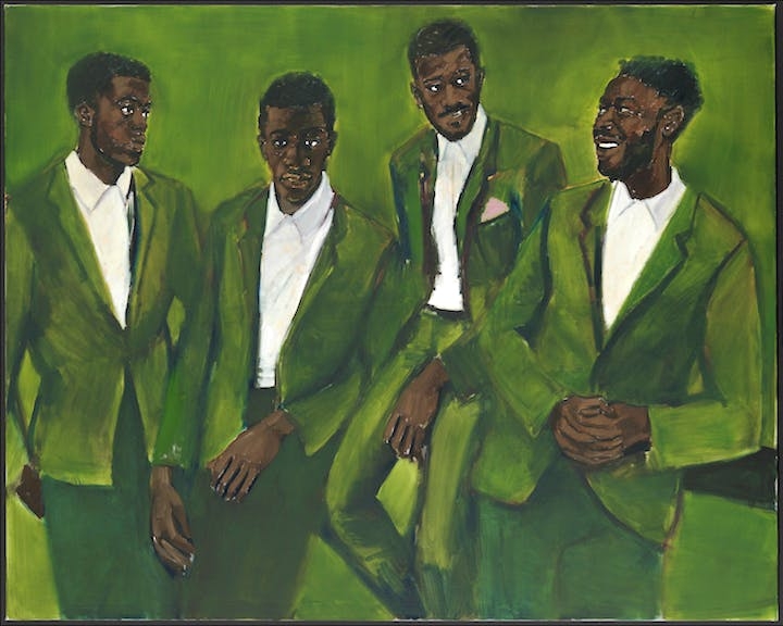 A Culmination (2016), Lynette Yiadom-Boakye. Courtesy the artist; Corvi-Mora, London; and Jack Shainman Gallery, New York