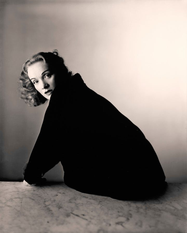 Marlene Dietrich, New York, 1948 (2000), Irving Penn. © The Irving Penn Foundation