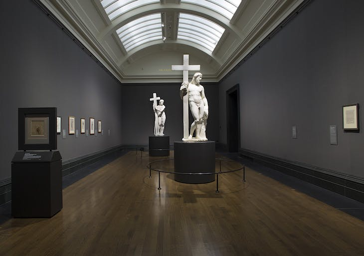 'Michelangelo & Sebastiano', installation view, National Gallery, London