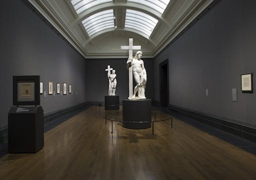 'Michelangelo & Sebastiano', installation view, National Gallery, London