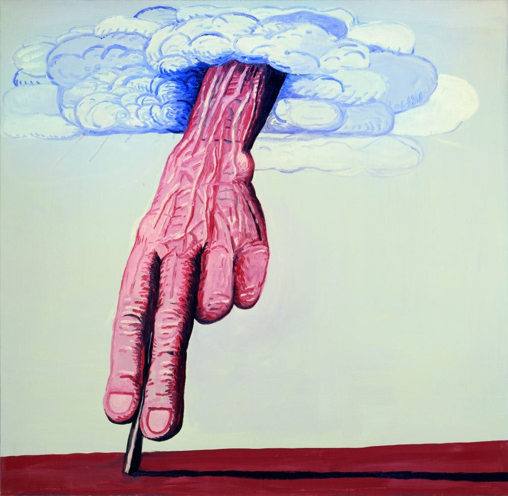 The Line (1978), Philip Guston