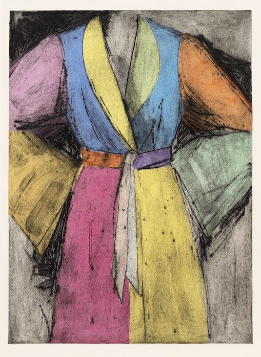 Pale Self (1995), Jim Dine. Courtesy the artist and Alan Cristea Gallery, London