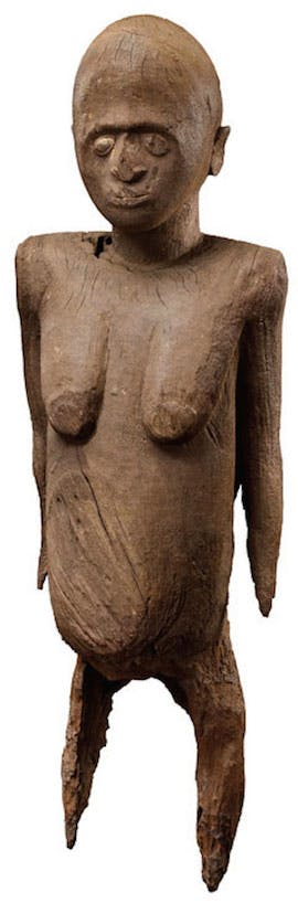 Female figure, 19th century, Lobi, Burkina Faso. Serge Schoffel at Cultures: The Worlds Arts Fair