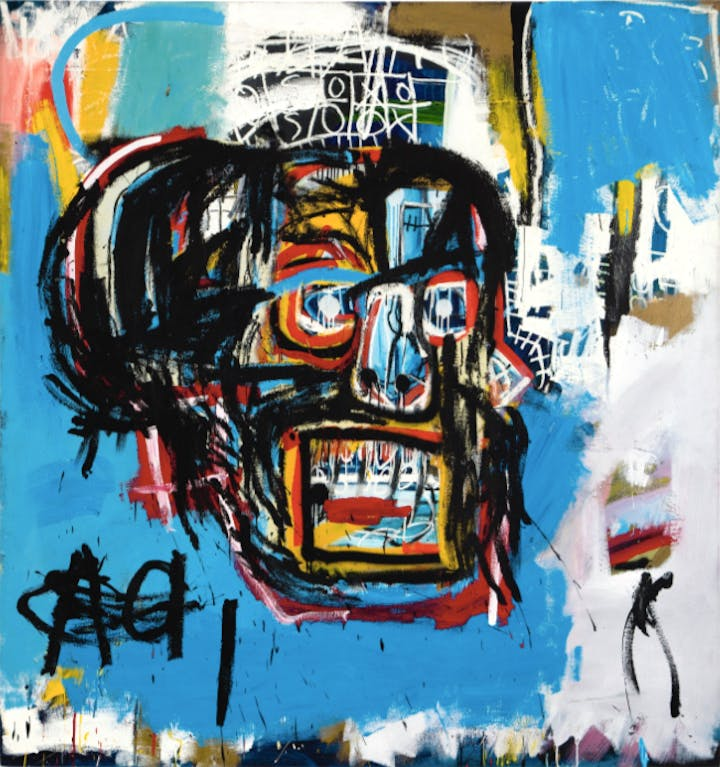 Untitled (1982), Jean Michel Basquiat. Sotheby's New York, estimate: $65m