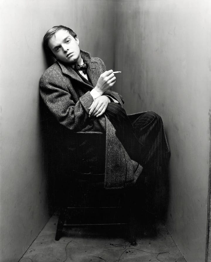 Truman Capote, New York, 1948 (1968), Irving Penn. © The Irving Penn Foundation
