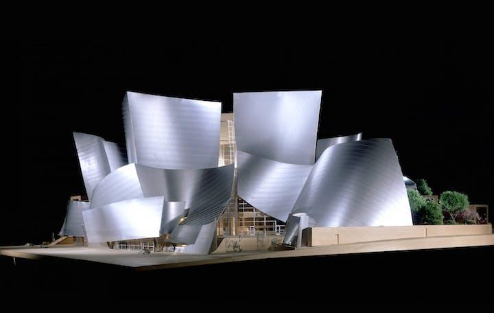 Model of the Walt Disney Concert Hall, (2003), Frank Gehry. © Frank O. Gehry